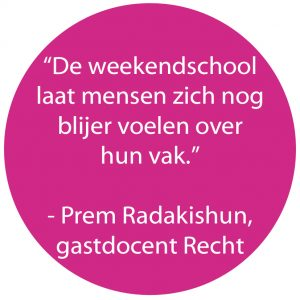 Gastdocent IMC Weekendschool worden