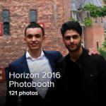Hier staan alle foto's die gemaakt zijn bij de photobooth op Horizon 2016. Iedereen staat er leuk op! Je mag de foto's waar je op staat downloaden, maar gebruik niet zomaar foto's van anderen.