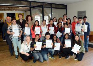 Uitreiking weekendschool diploma Den Haag