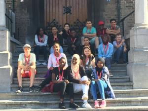 IMC Weekendschool Tilburg bezoek Tweede Kamer
