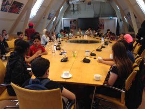 IMC Weekendschool bezoek Tweede Kamer