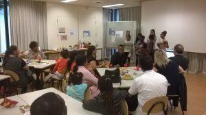 Inleiding door groepje leerlingen voor ouders